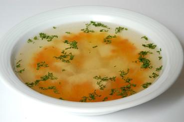 Суп Консоме.