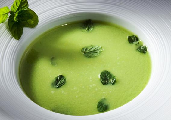Суп из петрушки.