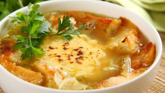 Луковый суп.