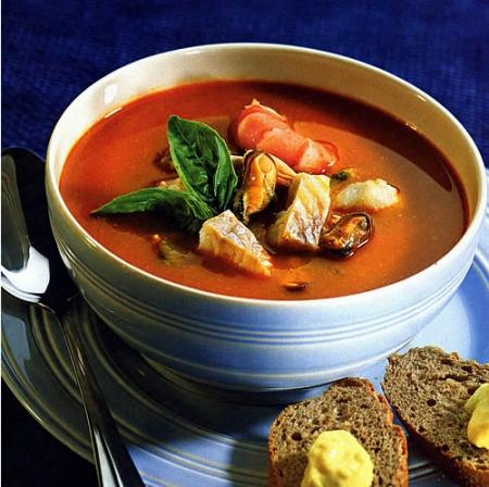 Буйабесс-рыбный суп.