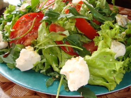 Легкий салатик.