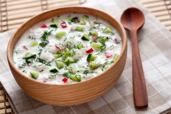 Холодный суп.