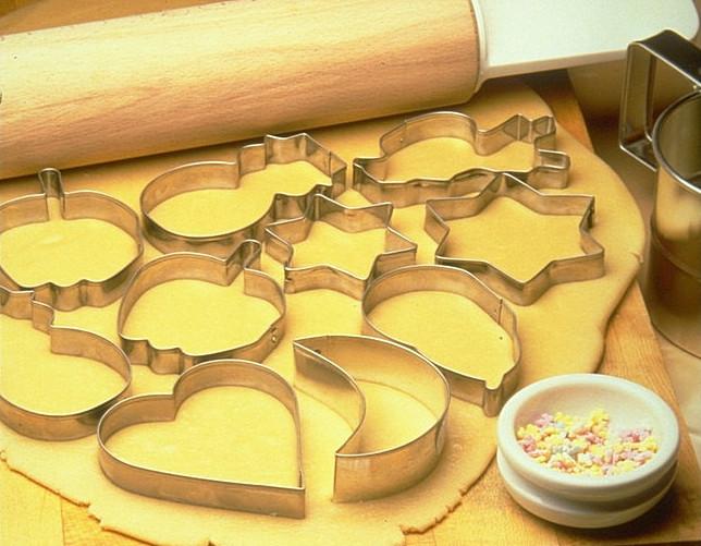 Песочное тесто со сметаной.