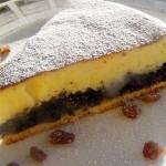 Творожный пирог с маком.