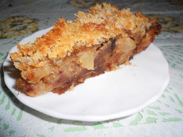 """Австралийский яблочный пирог """"Дровосек""""."""