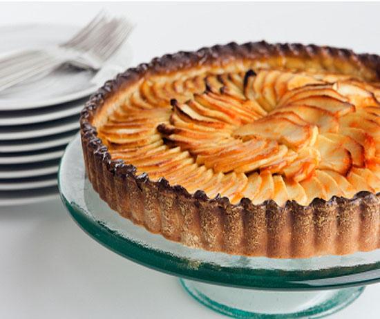 Французский тарт с яблоками.