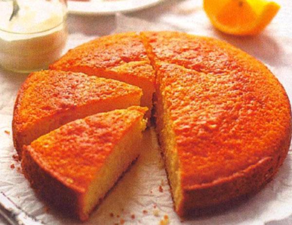 Пирог «Цитрусовый».