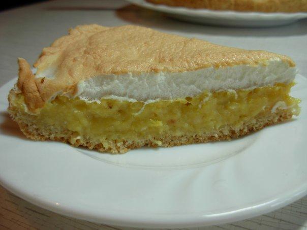 Американский цитрусовый пирог.