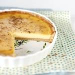 Пирог лимонно-медовый.