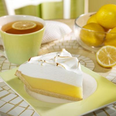 Лимонный тарт.