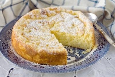 Лимонно-рисовый пирог.