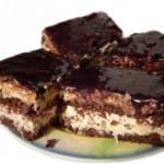 Шоколадно-кокосовый тарт.