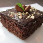 Шоколадный пирог с цукини.