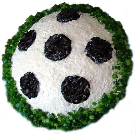 "Салат ""Футбол""."