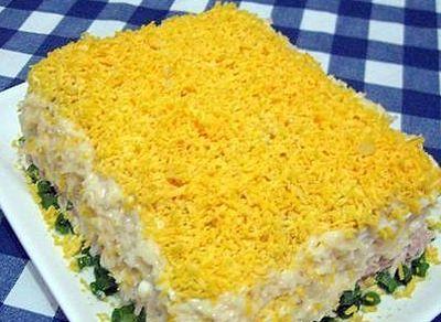 Торт-салат.
