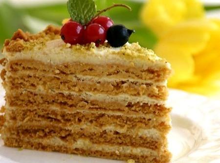 Торт «Рыжик».