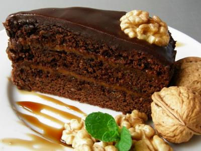 """Торт """"Пражский""""."""