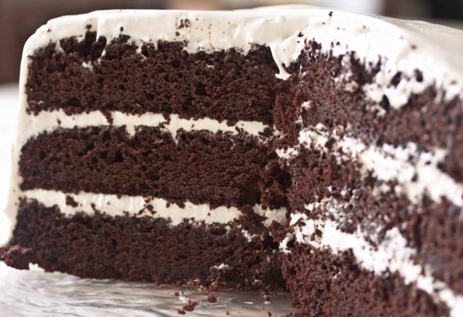 """Торт """"Черный принц""""."""