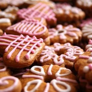 Сливовое печенье.