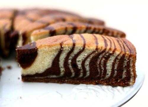 Торт «Зебра».