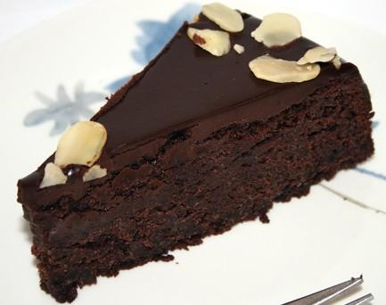 Очень шоколадный пирог.