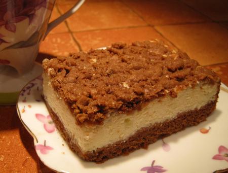 Торт с творожной начинкой рецепт с фото
