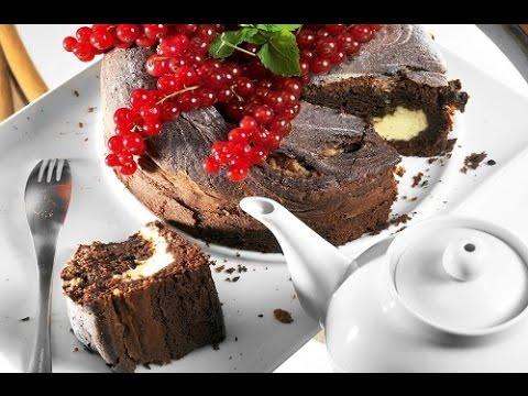 Шоколадный пирог с маскарпоне.