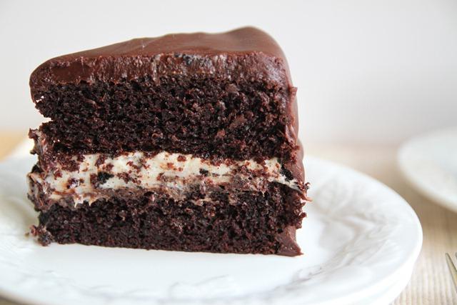 Торт «Три крема».