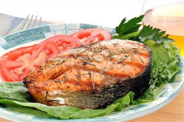 Стейк рыбы красной запеченной в духовке рецепты