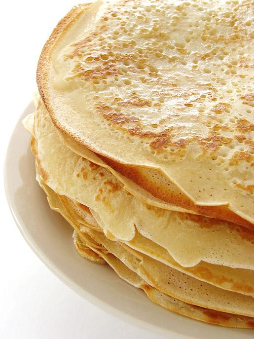 Блины (pancakes).
