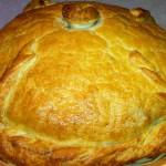 2148 Один из самых известных русских пирогов - Курник.
