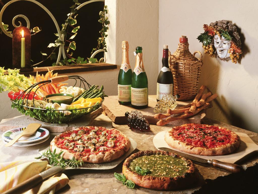 Немного про Итальянскую  кухню