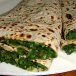 Жареные пирожки с зеленью (Женгялов хац)