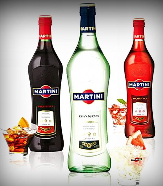 Алкоголь. Мартини