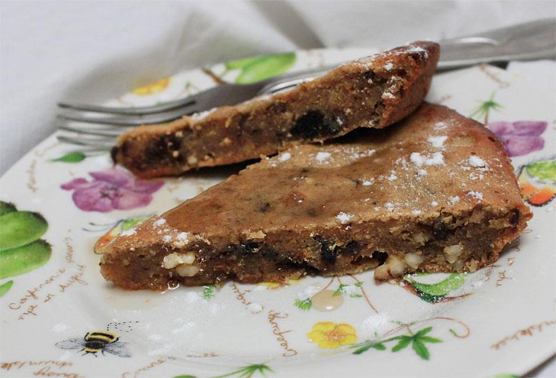 Влажный шоколадный пирог с оливковым маслом