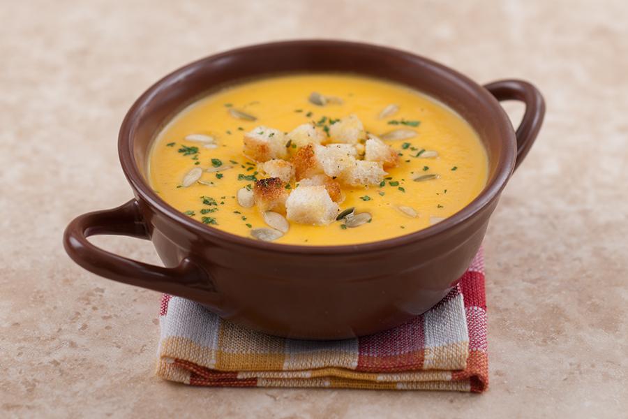 Крем — суп из тыквы