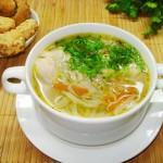 Куриный суп по ‑ домашнему