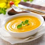 Нежный суп-пюре из тыквы