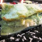 Лазанья из овощей на гриле и моцареллы