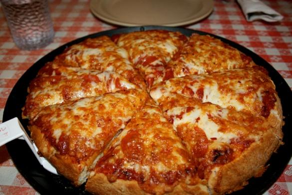 Тесто для пиццы на сковороде