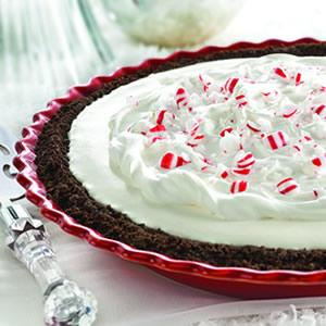 Снежно — мятный пирог