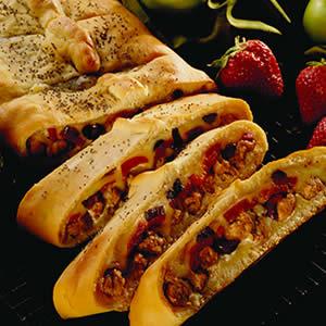 Итальянский хлеб с начинкой