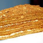 4779 150x150 - Торт Рыжик с заварным кремом