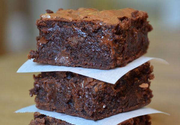 Шоколадный пирог-брауни