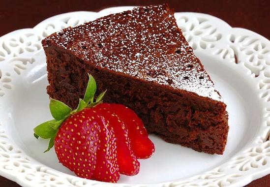 Шоколадный кекс в микроволновке