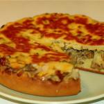 4121 Пирог с грибами