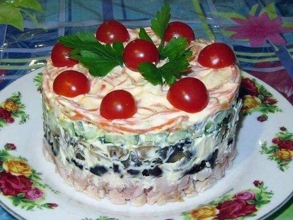 Салат «Вкусняшка»