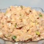 4291 Салат с печенью трески