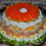 4303 Слоеный салат Жемчужина