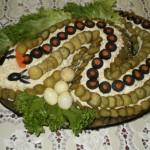 4338 Салат Змейка